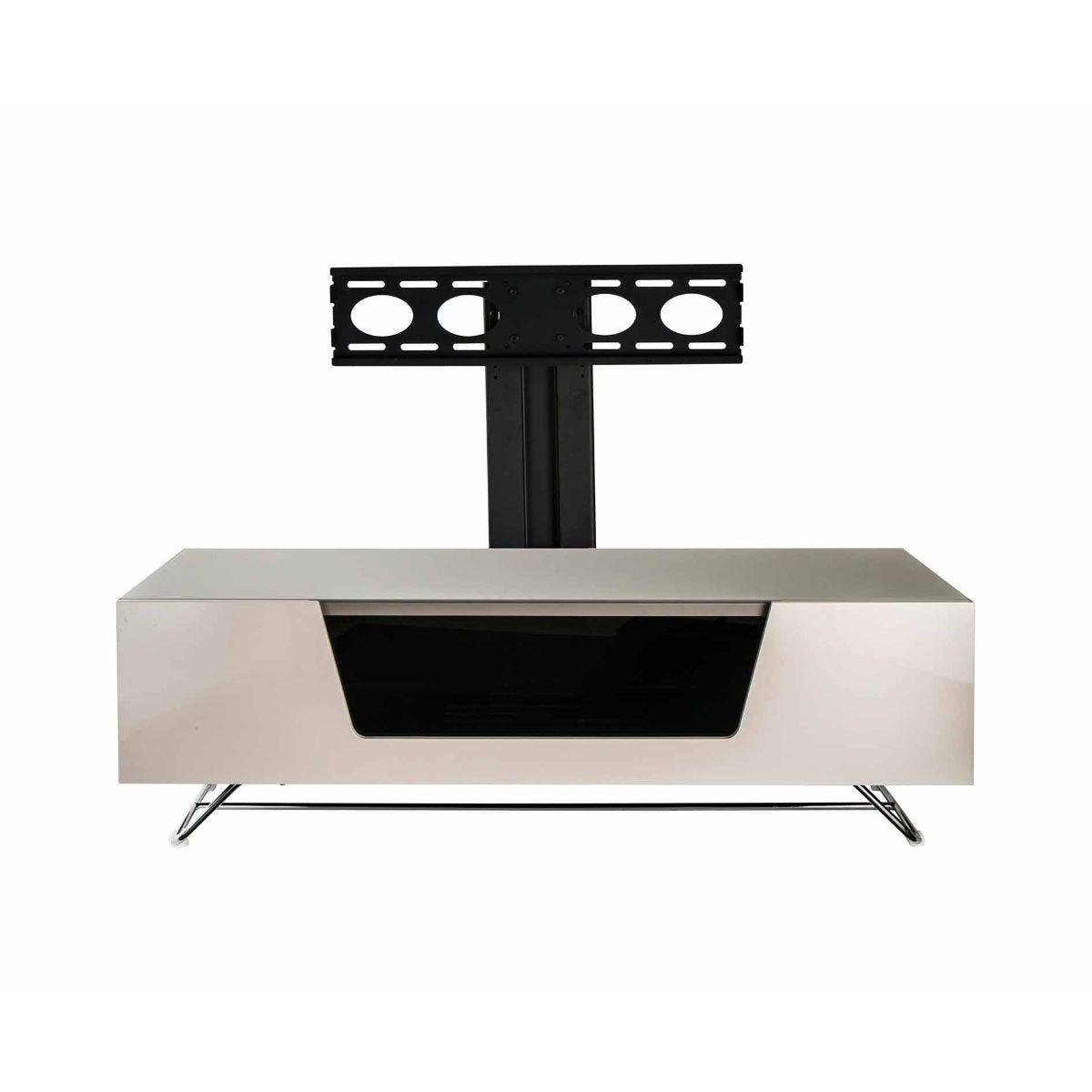 Alphason Chromium 1200 TV Cabinet with Bracket, Ivory
