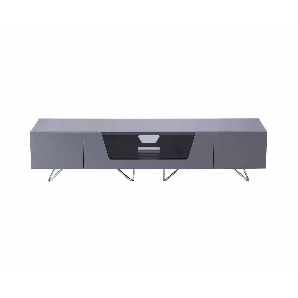 Alphason Chromium 1600 TV Cabinet, Grey