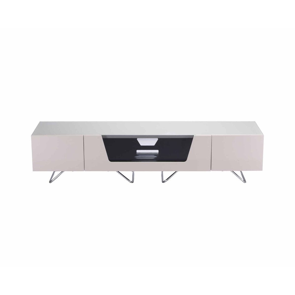 Alphason Chromium 1600 TV Cabinet, Ivory