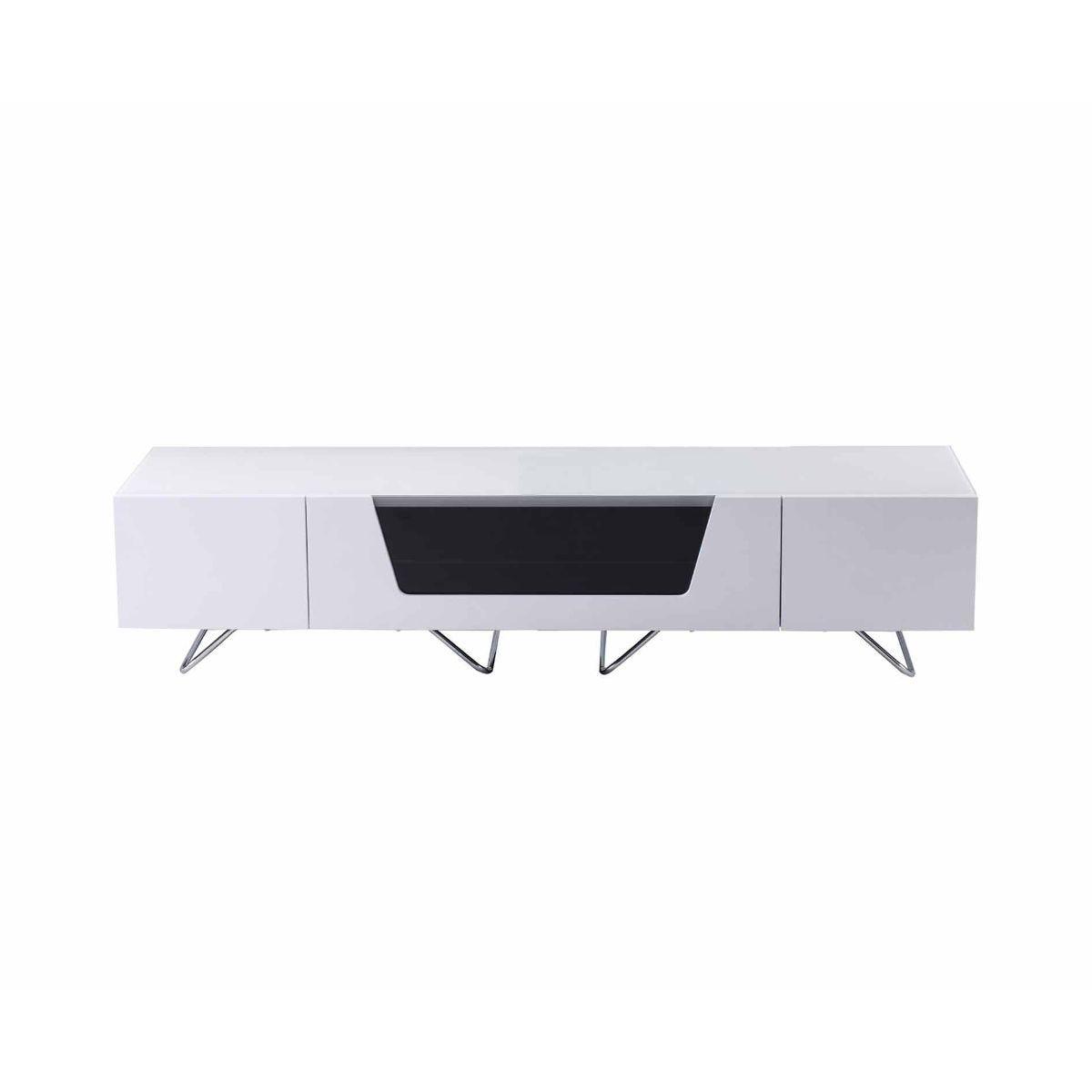 Alphason Chromium 1600 TV Cabinet, White