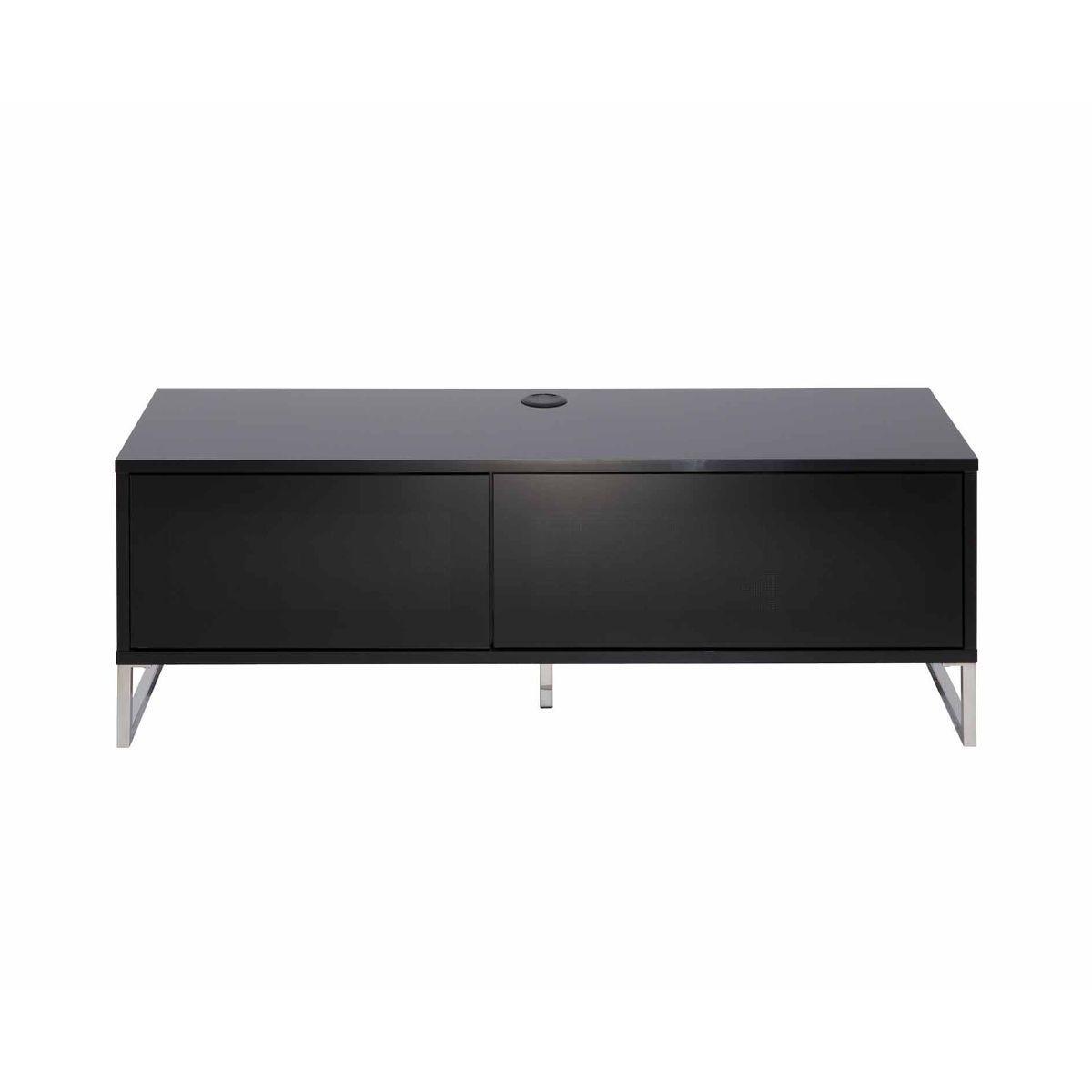 Alphason Helium Wall 1200 TV Cabinet, Black