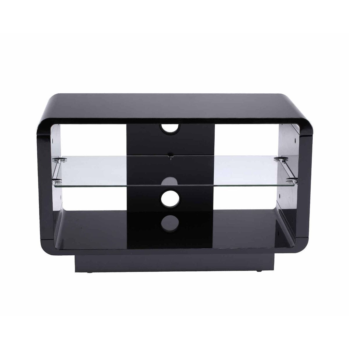 Alphason Luna 800 TV Stand, Black