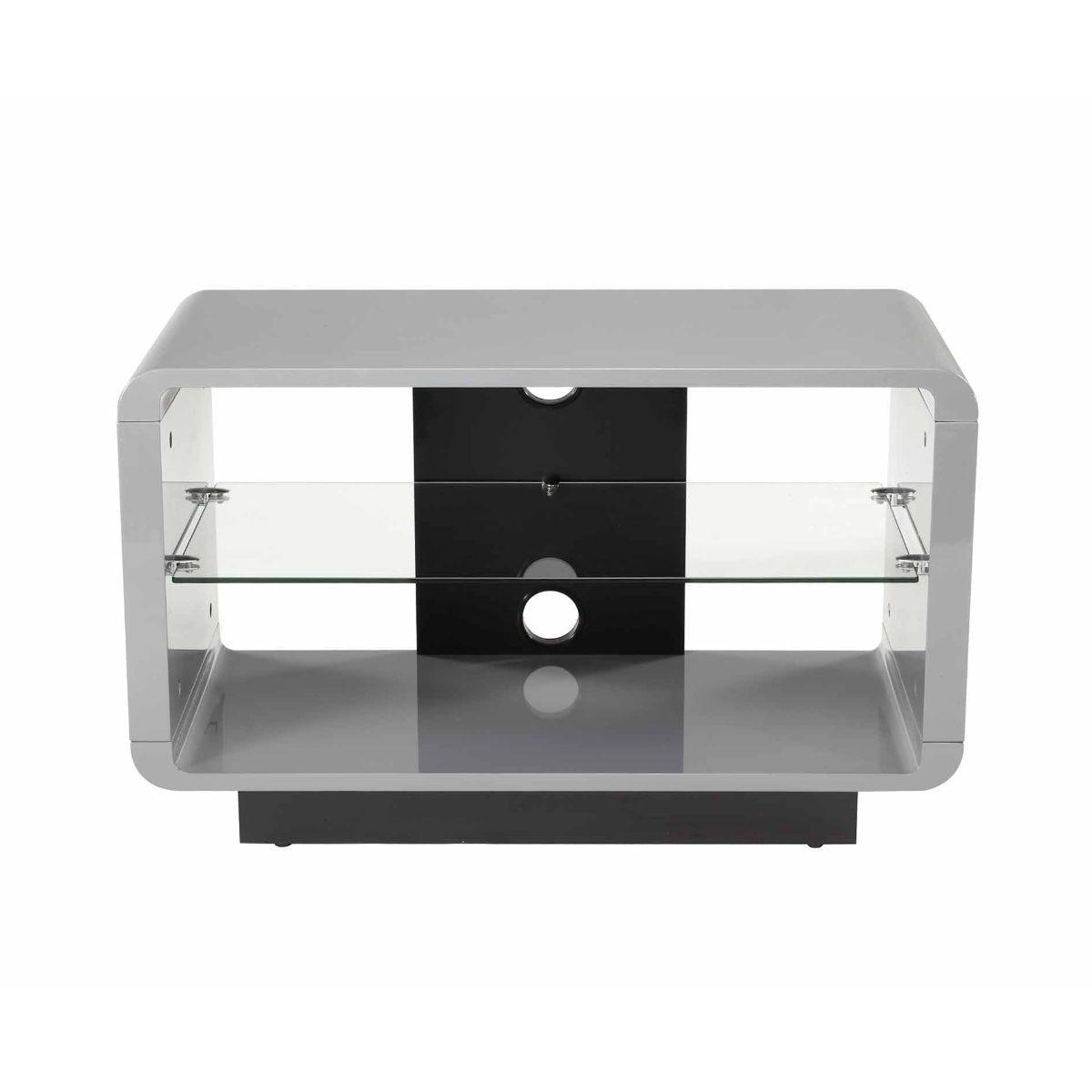 Alphason Luna 800 TV Stand, Grey