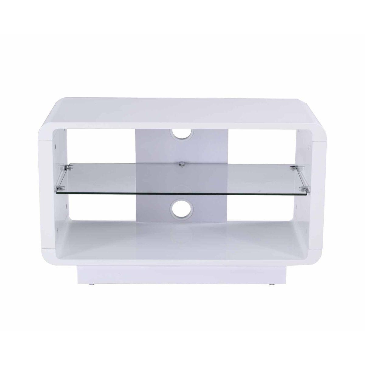 Alphason Luna 800 TV Stand, White