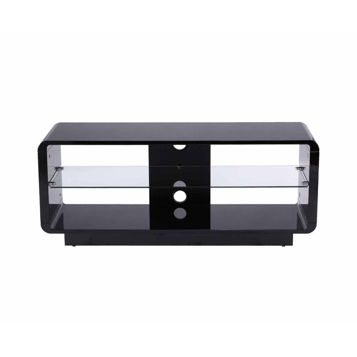 Alphason Luna 1200 TV Stand, Black