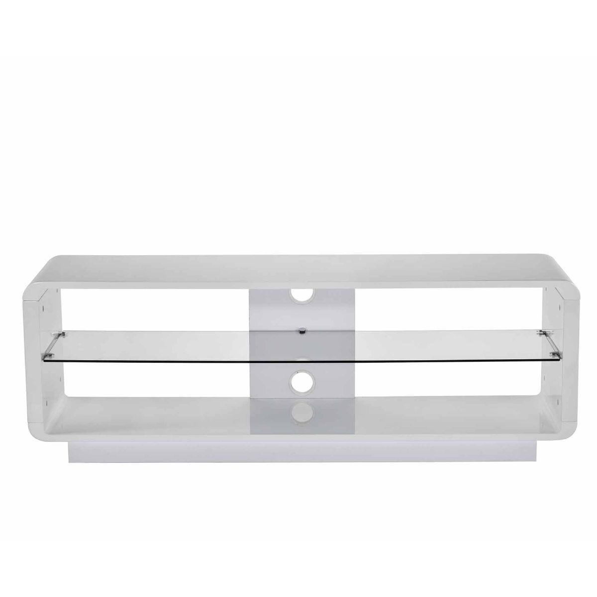 Alphason Luna 1400 TV Stand, White