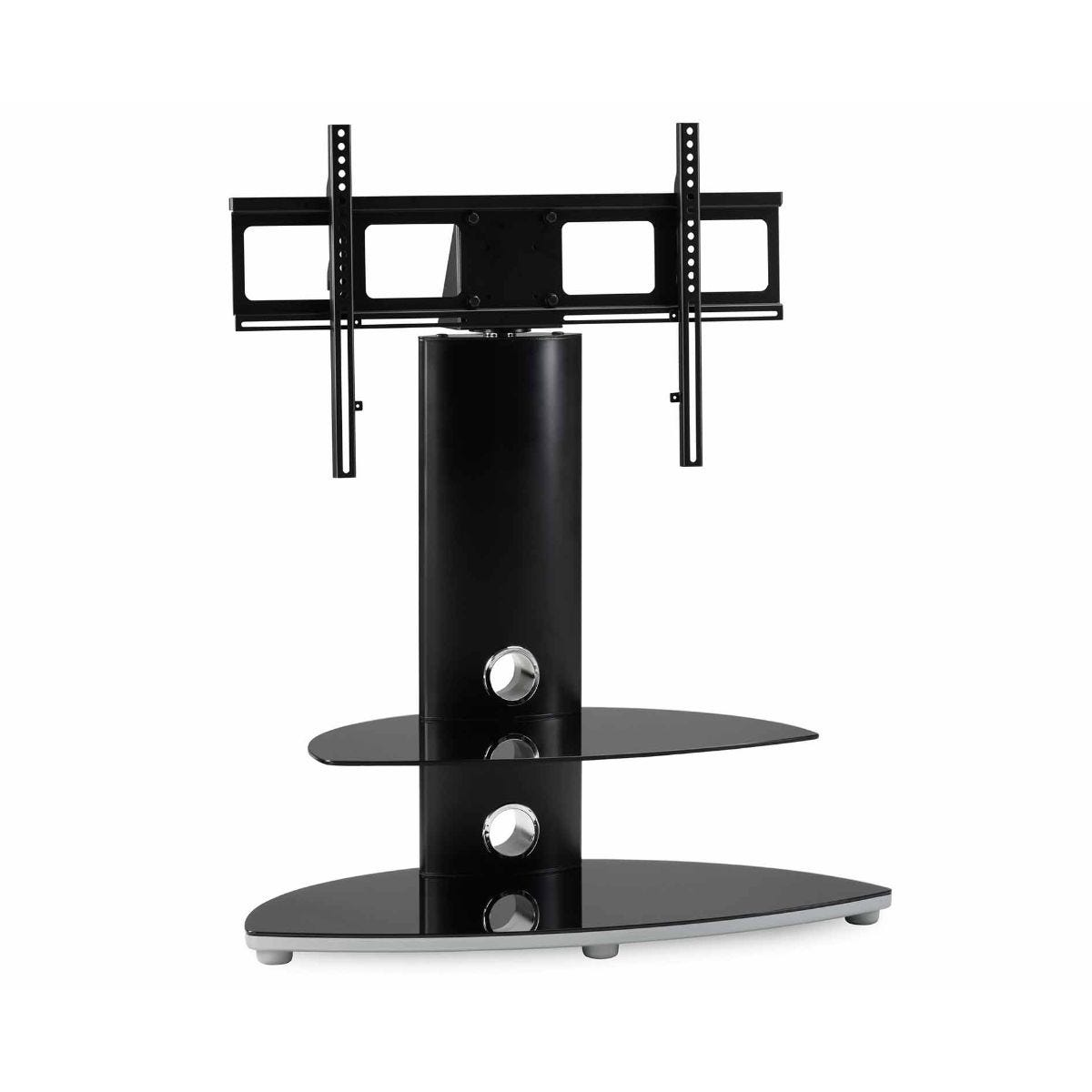 Alphason Osmium 800 TV Stand with Bracket, Black