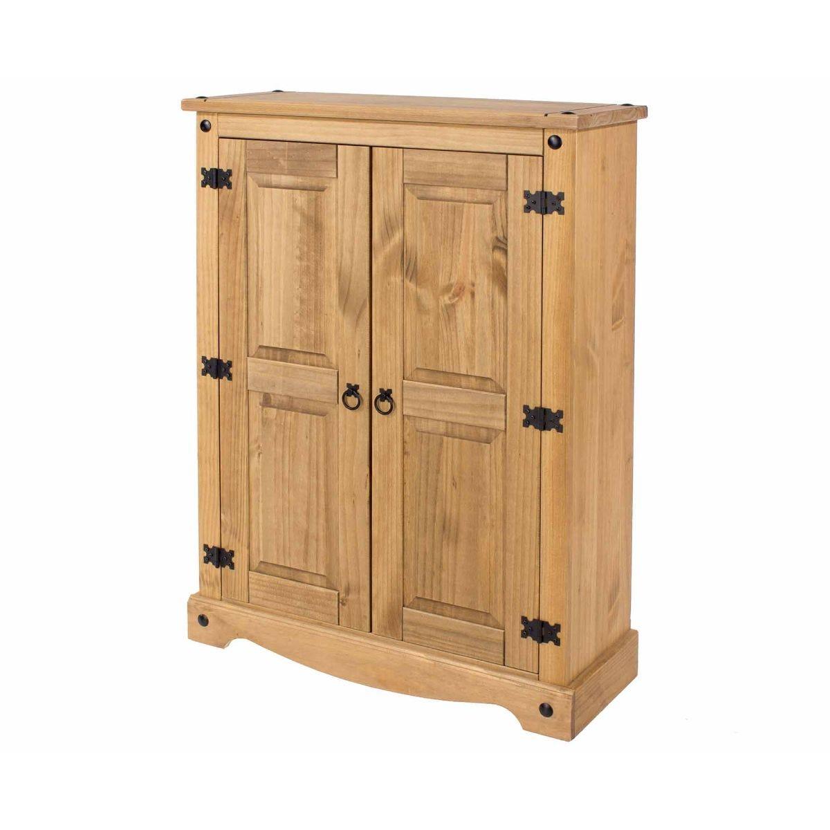 Corona 2 Door Cupboard Unit, Pine