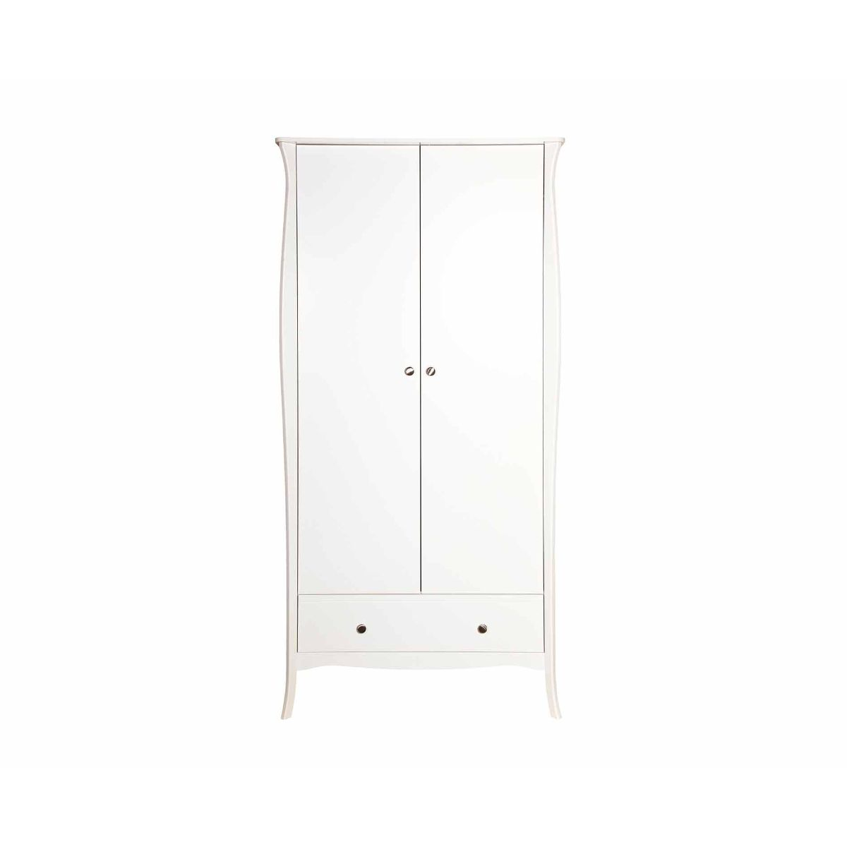Steens Baroque 2 Door Wardrobe, White