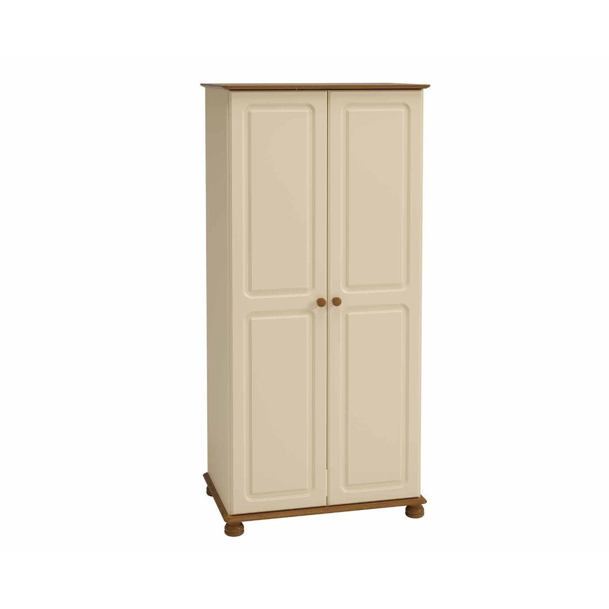 Steens Richmond 2 Door Wardrobe, Cream