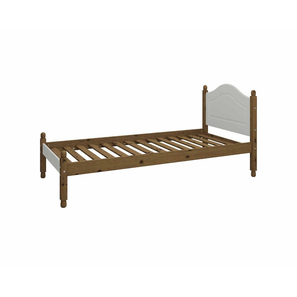 Steens Richmond Single Bed Frame 3ft, Grey