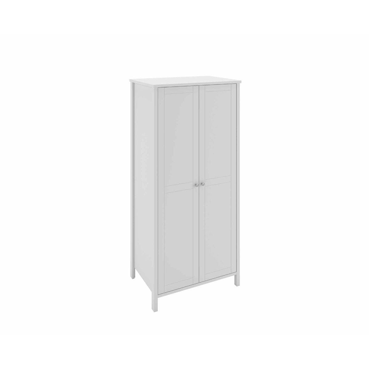 Steens Tromso 2 Door Wardrobe, White