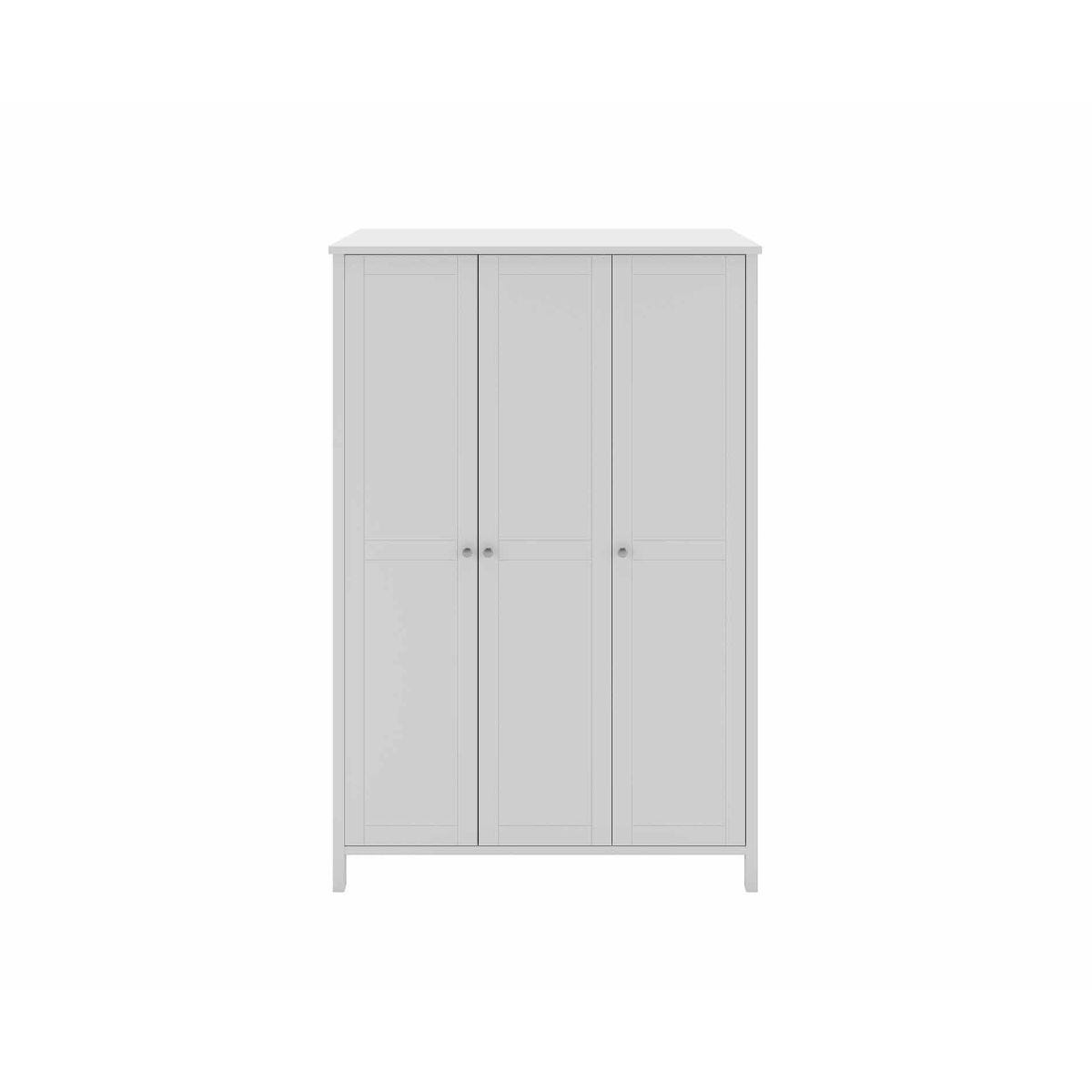 Steens Tromso 3 Door Wardrobe, White
