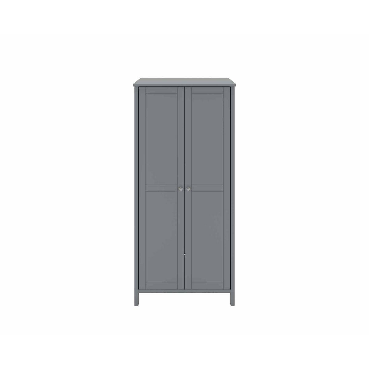 Steens Tromso 2 Door Wardrobe, Grey
