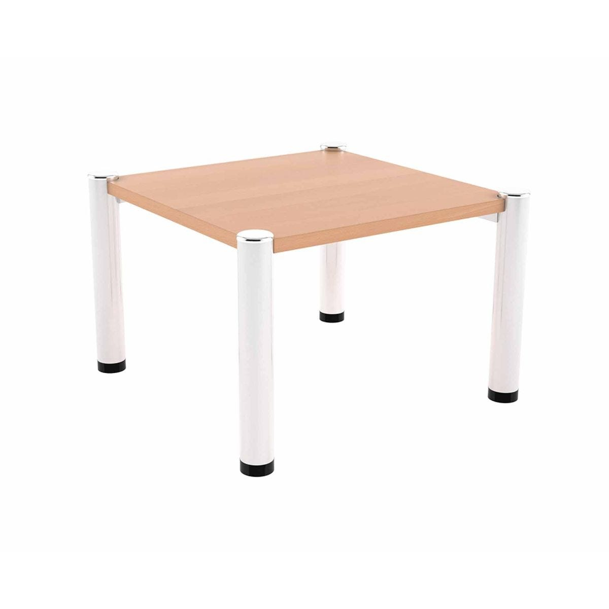 TC Office Iceberg Square Reception Coffee Table, Beech