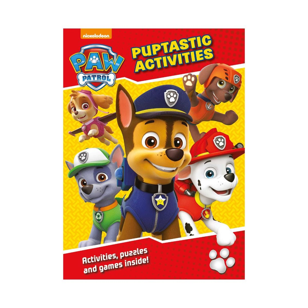 paw patrol puptastic activities book price