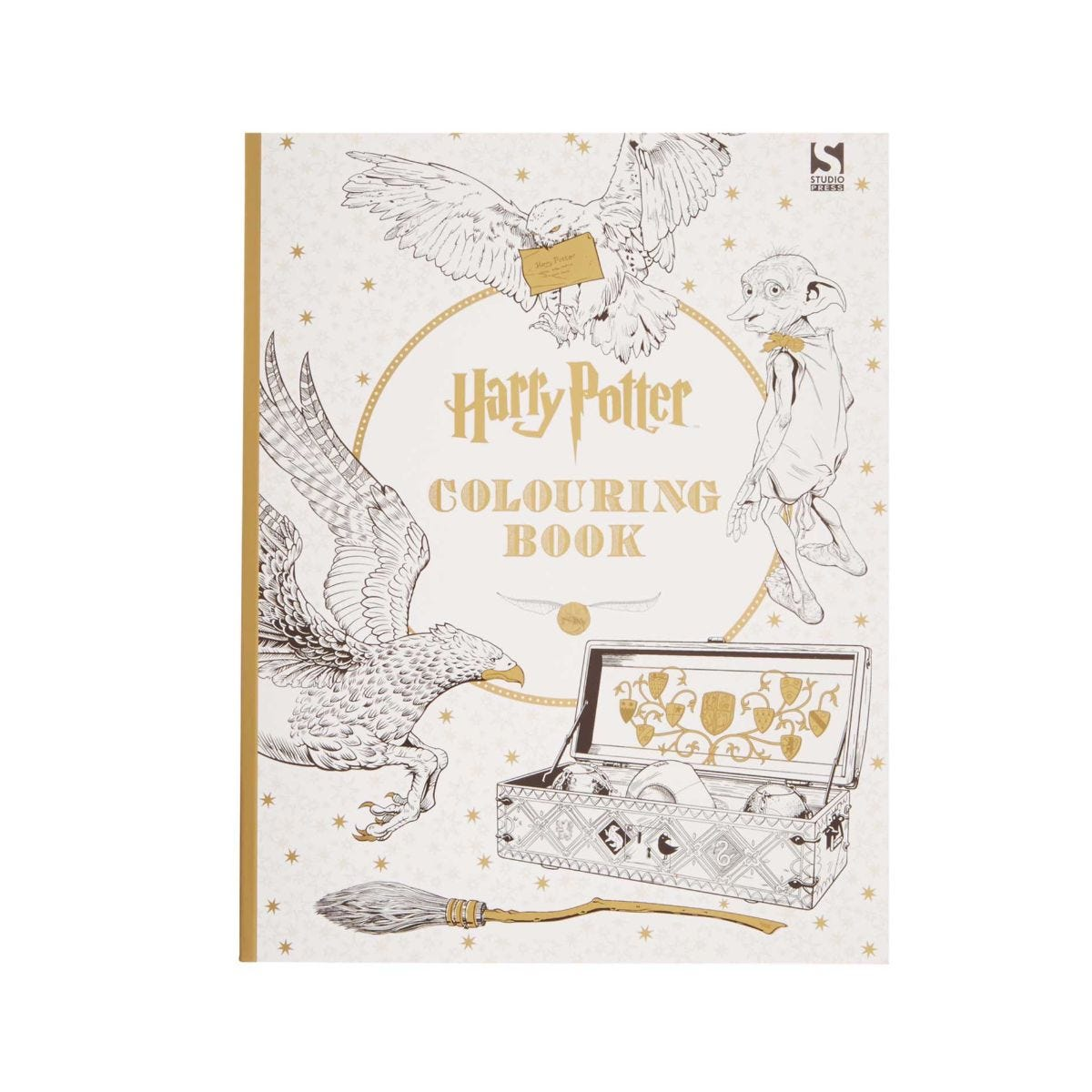 Harry Potter Books Colouring Stationery