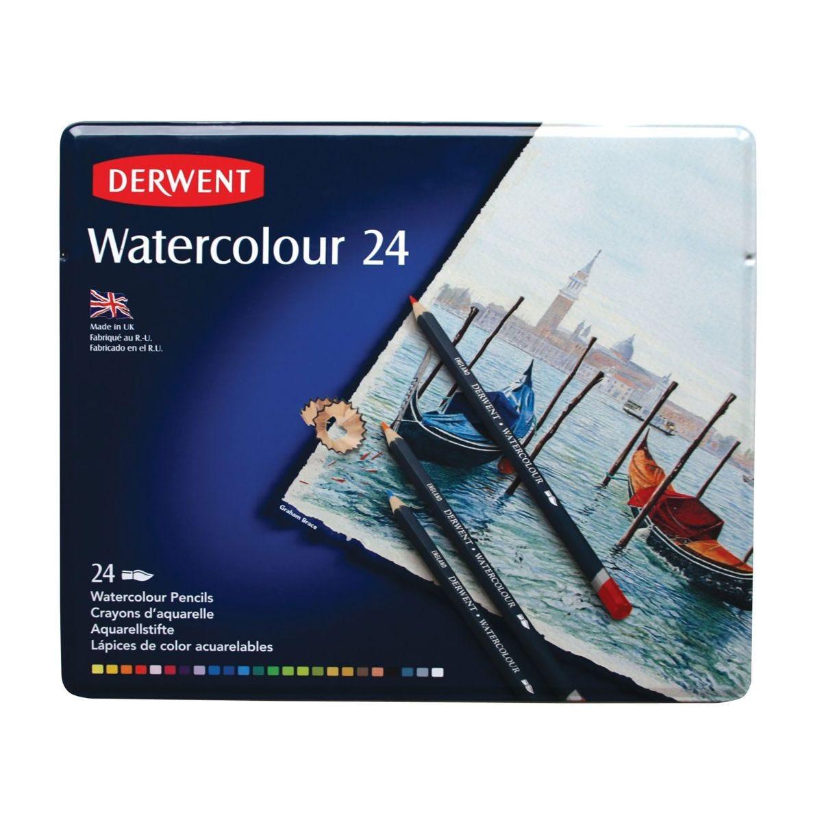 Derwent Watercolour Pencils Set of 24