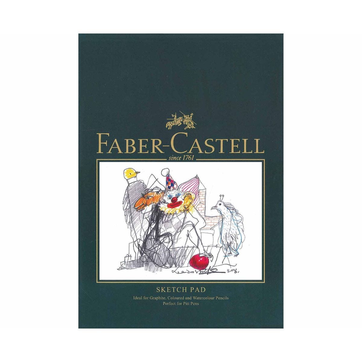 faber castell sketch pad 40 sheets a4