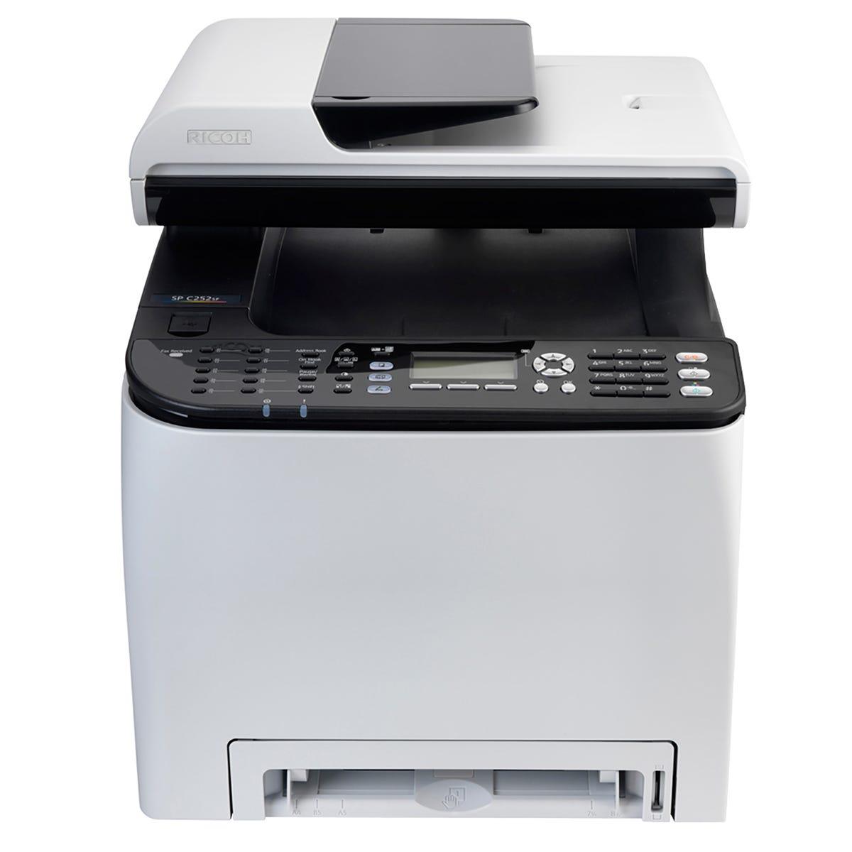 Ricoh SP C250sf A4 Desktop Colour Laser Multi Functional Printer