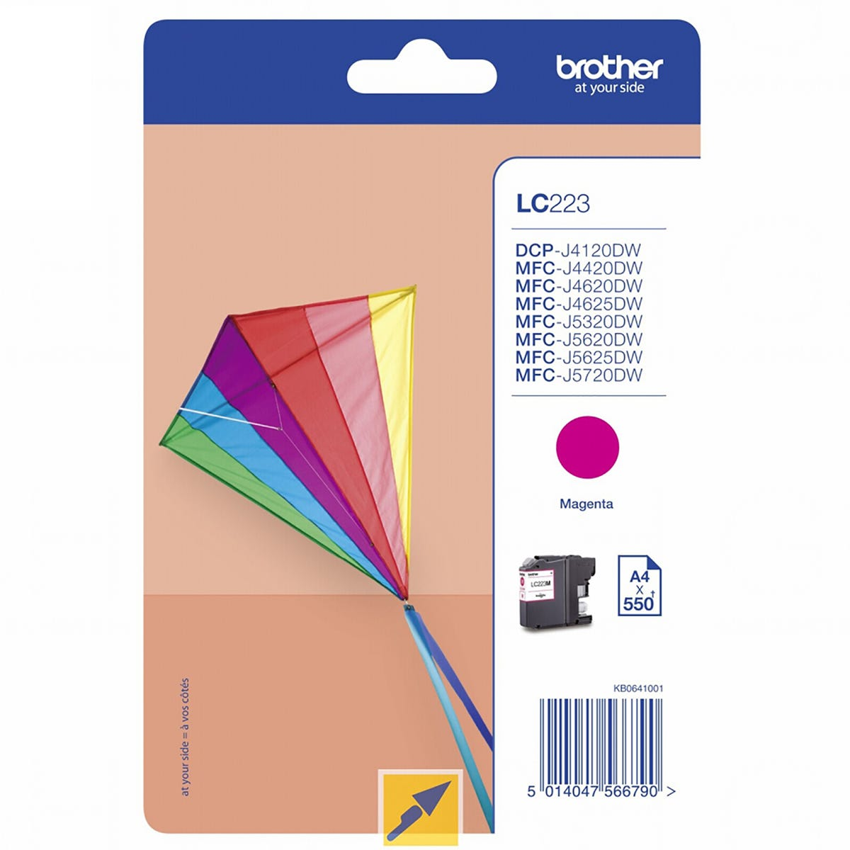 Image of Brother LC223M Ink Cartridge, Magenta