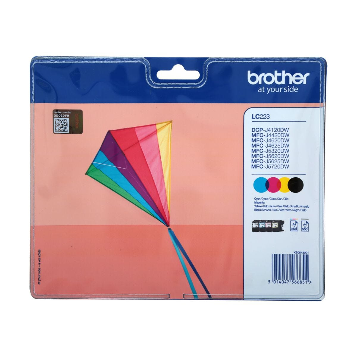 Image of Brother LC223 Ink Cartridge Value Pack