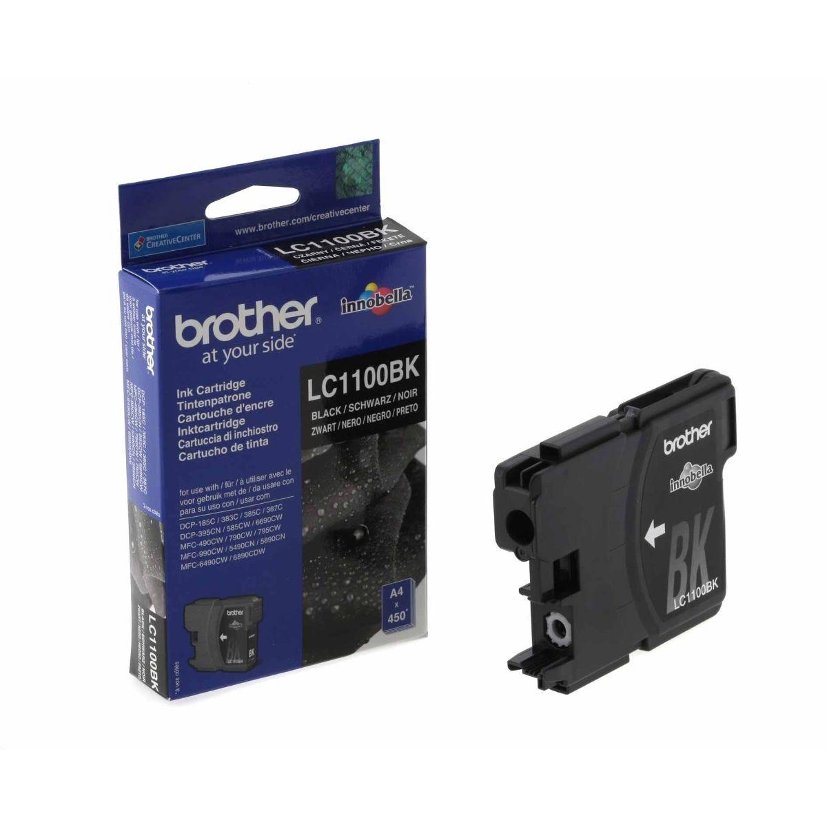 Image of Brother LC1100BK Ink Cartridge, Black