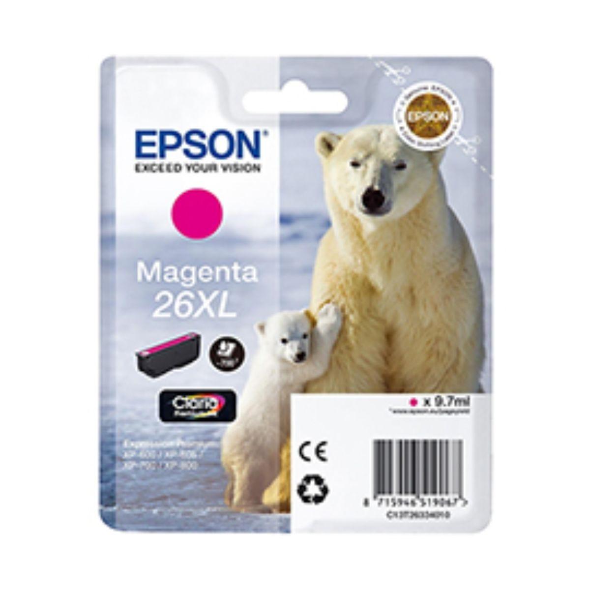 Epson T2633 XL Ink Magenta, Magenta.