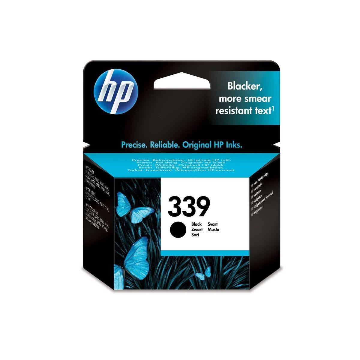 Image of HP 339 Ink Cartridge 21ml, Black