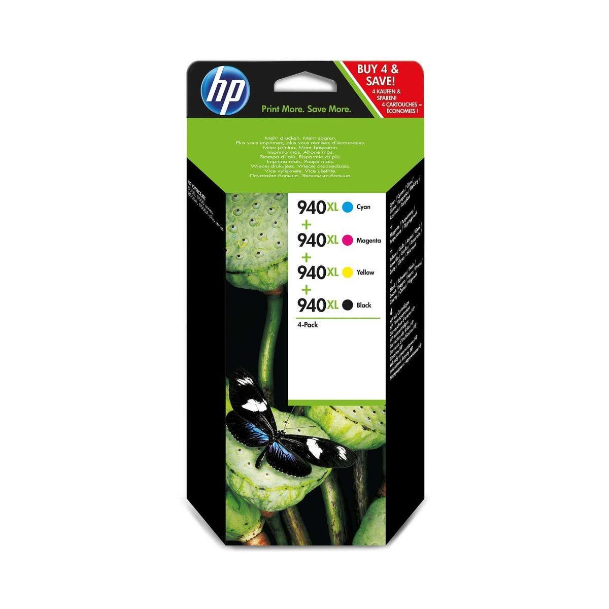 Image of HP 940XL Inkjet Cartridge Multi Pack, Multi