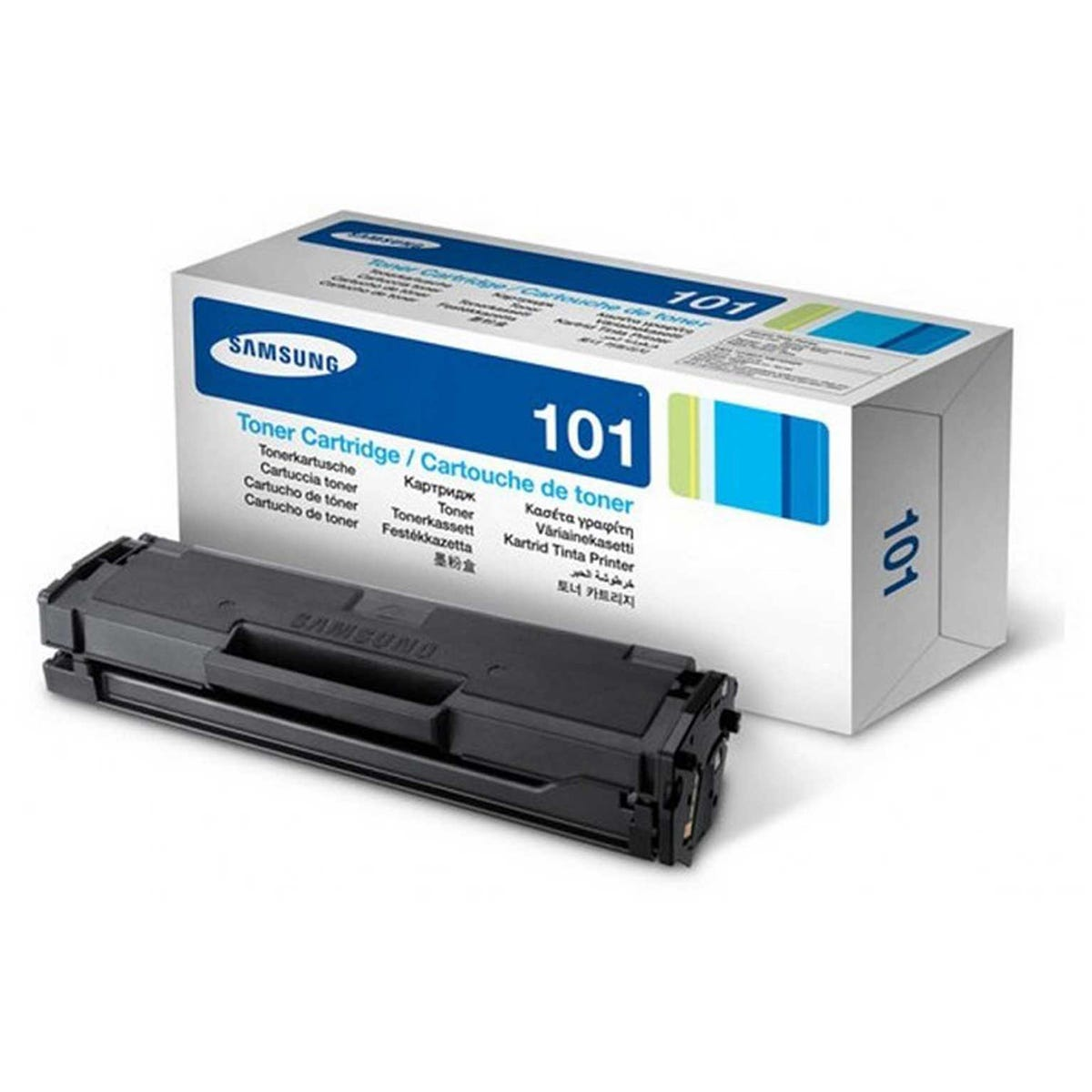 Image of Samsung MLT-D101S Printer Toner Cartridge, Black