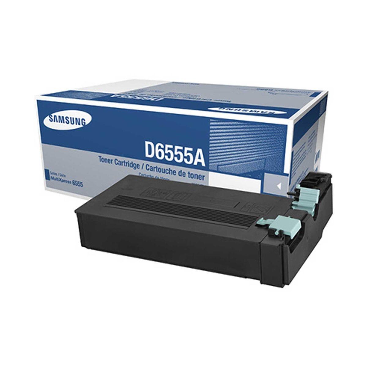 Image of Samsung SCX-D6555A Printer Ink Toner Cartridge, Black