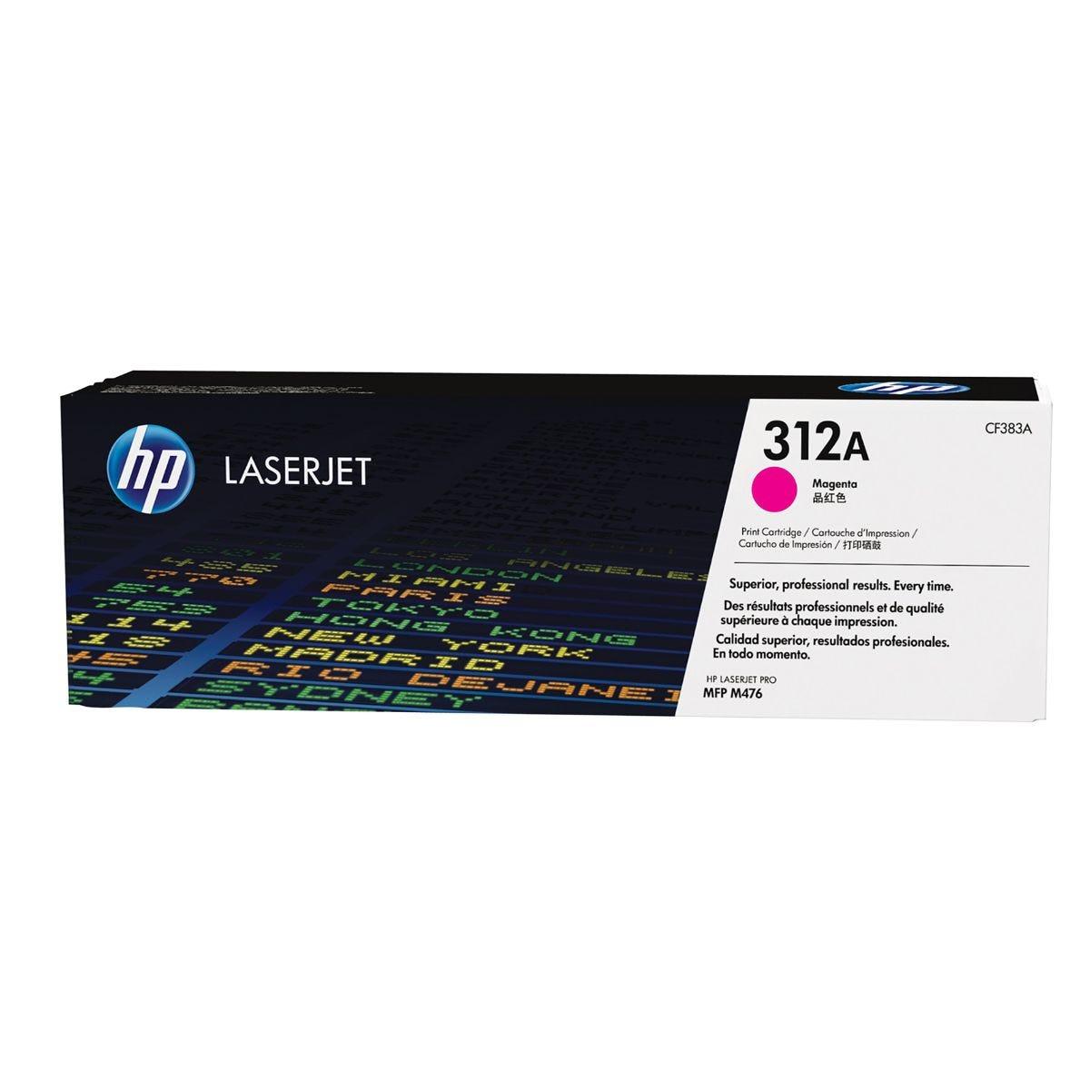 Image of HP 312A Laser Toner Cartridge Magenta CF383A, Magenta