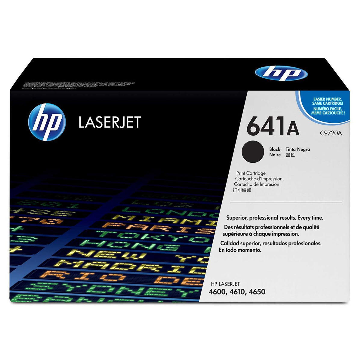 Image of HP 641A Printer Ink Toner Cartridge C9720A, Black web
