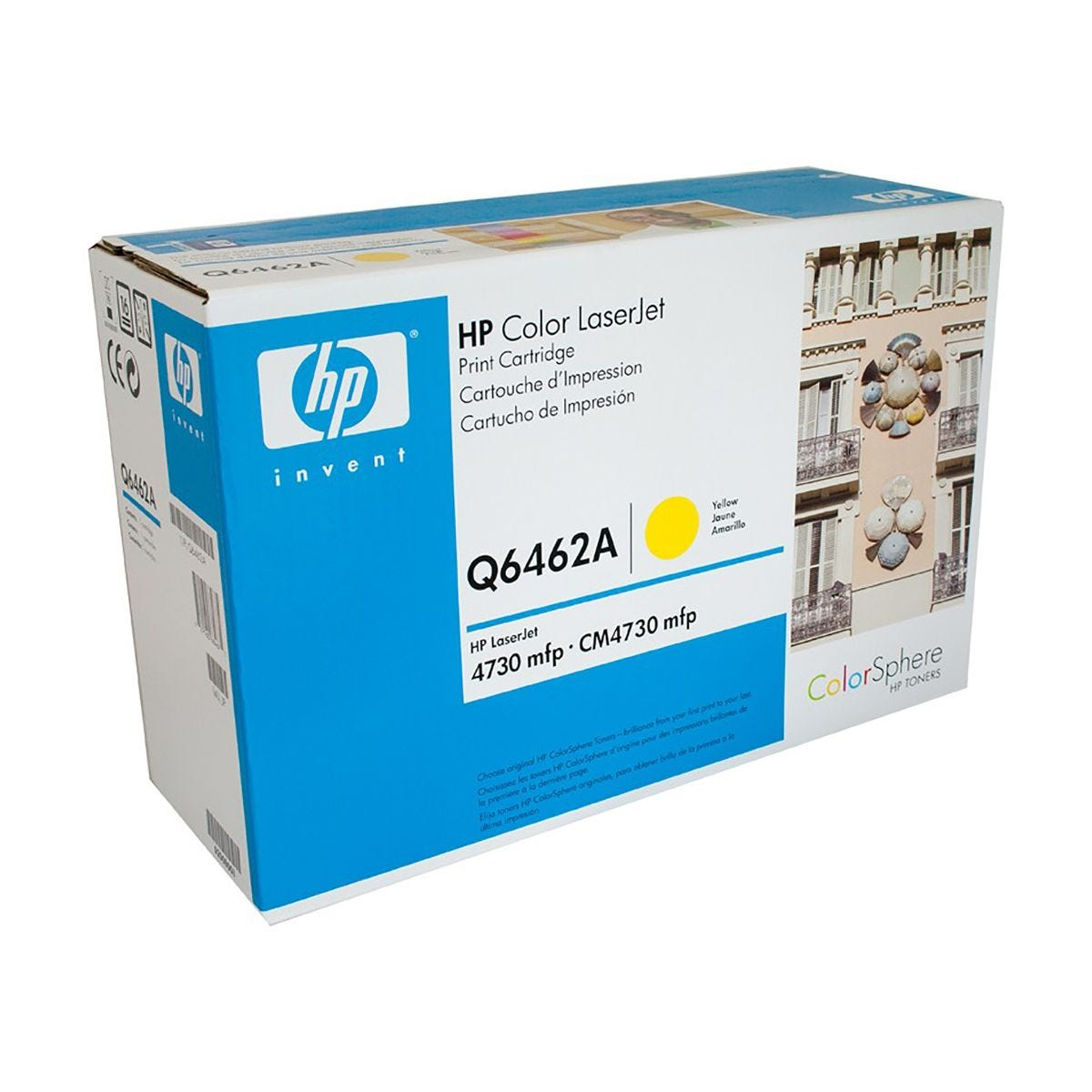 Image of HP 644A Laser Toner, Yellow