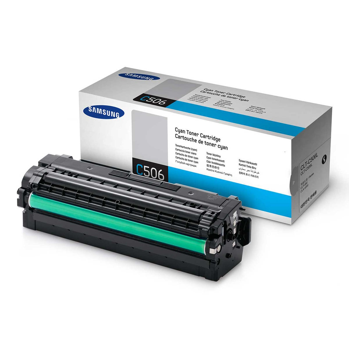 Samsung CLT-506L Inkjet Toner Cartridge, Cyan