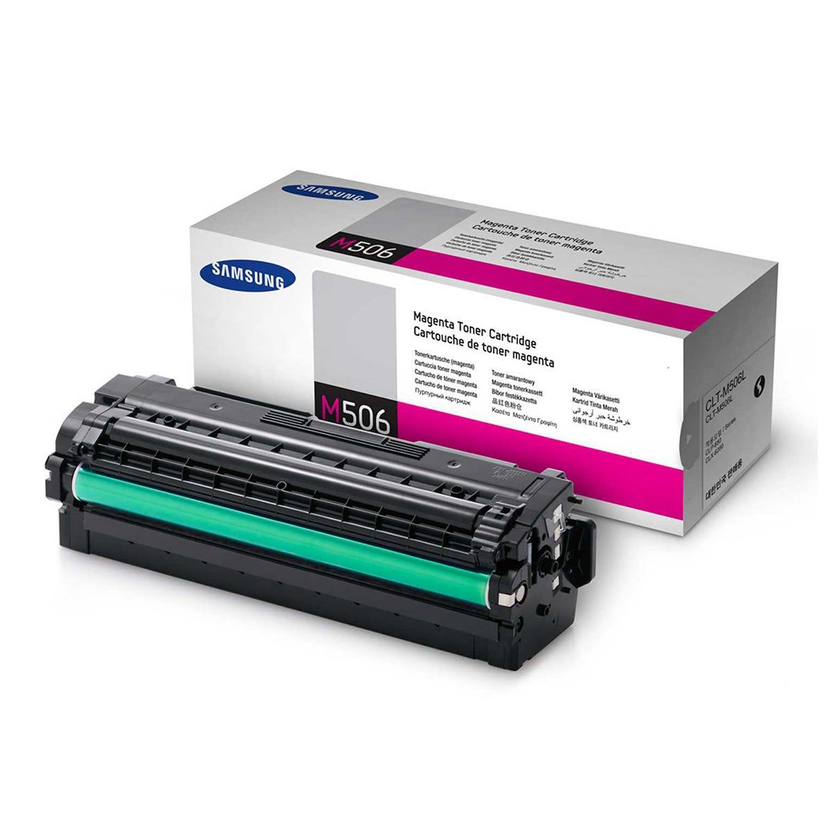 Samsung CLT-506L Inkjet Toner Cartridge, Magenta