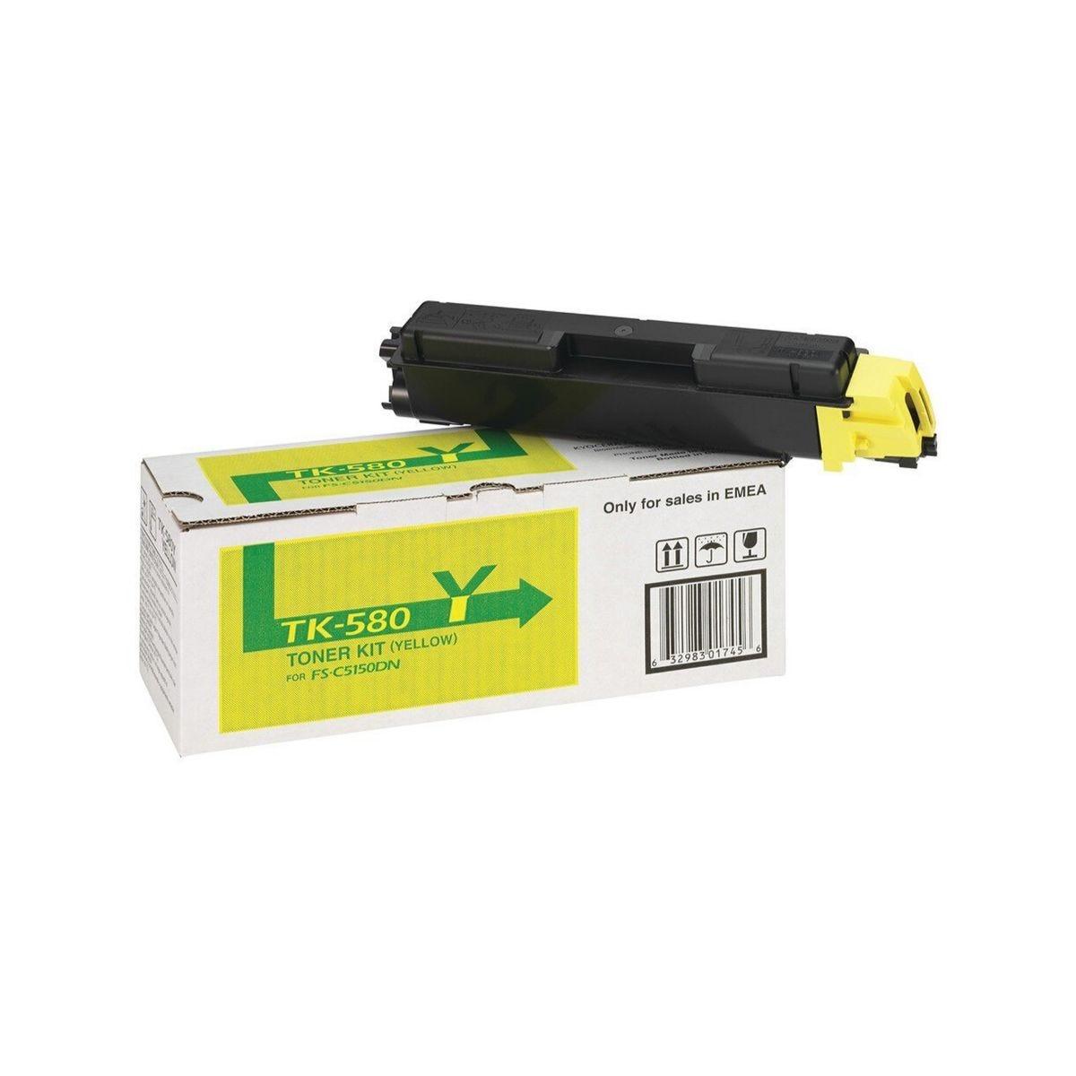 Image of Kyocera FS-C5150DN Toner Yellow, Yellow