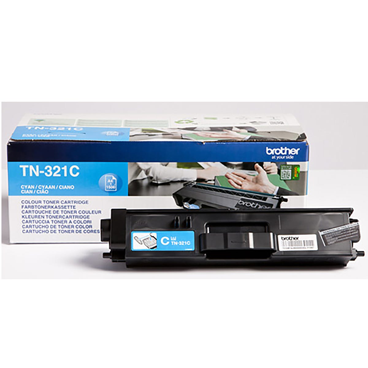 Image of Brother TN321 Toner, Cyan