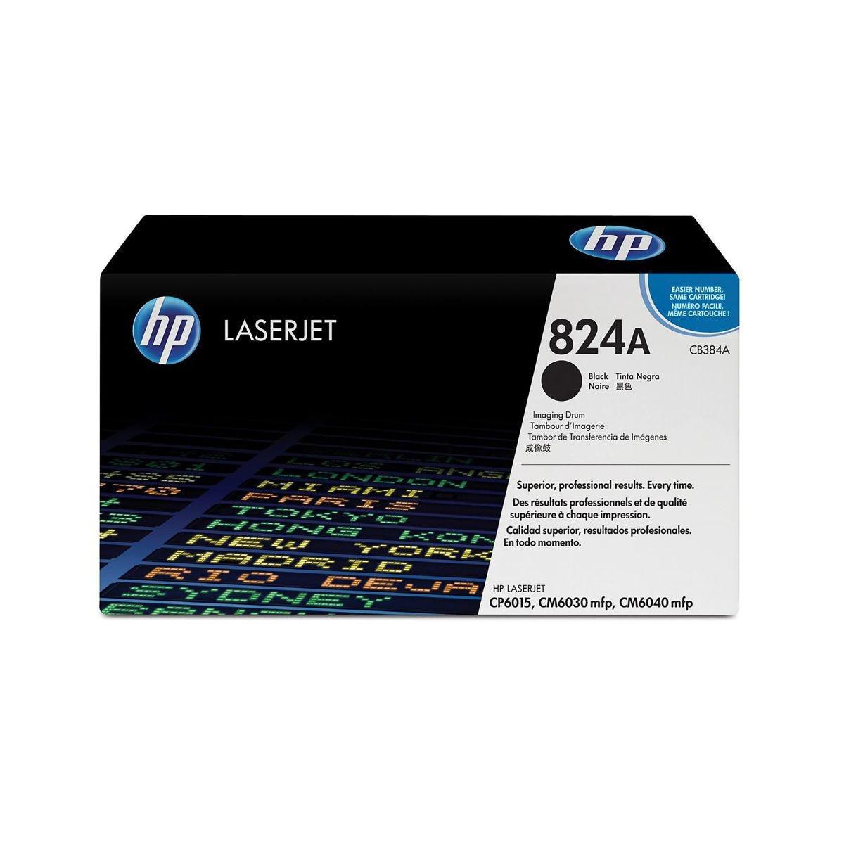 HP 824A Image Drum Black, Black