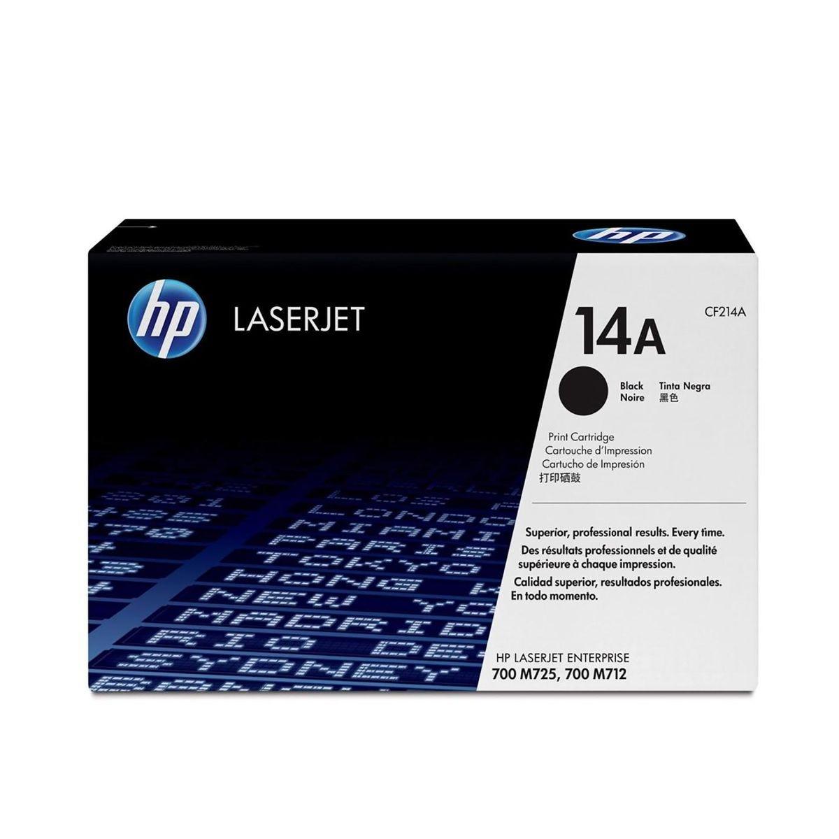 HP 14A Laser Toner Black, Black