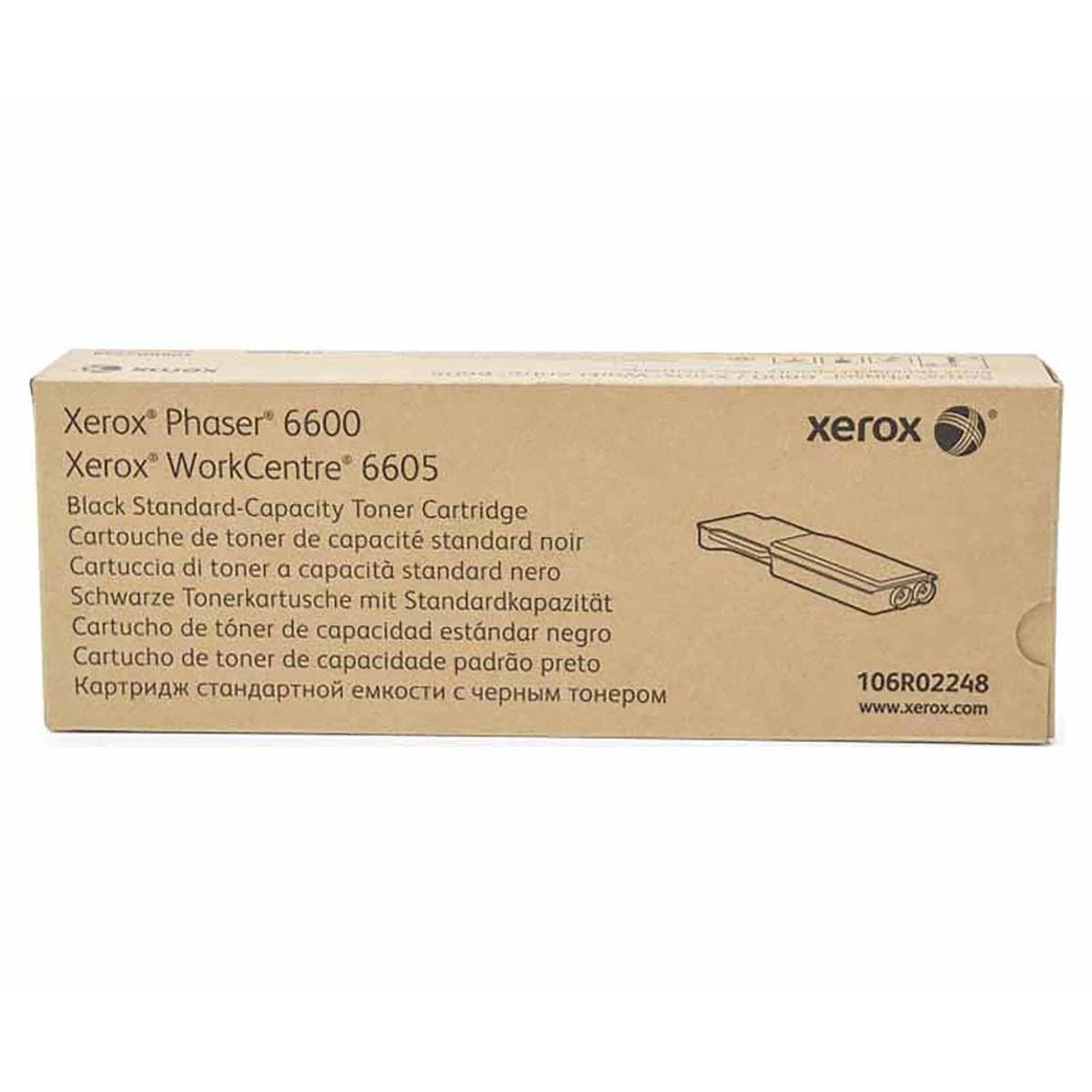 Image of Xerox Phaser 6600 Black Toner
