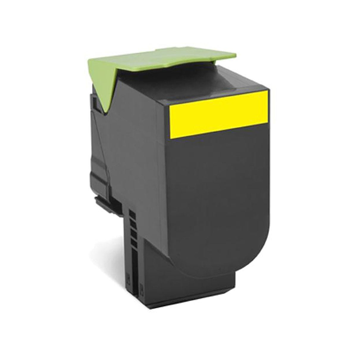 Lexmark 702HY Yellow Toner.