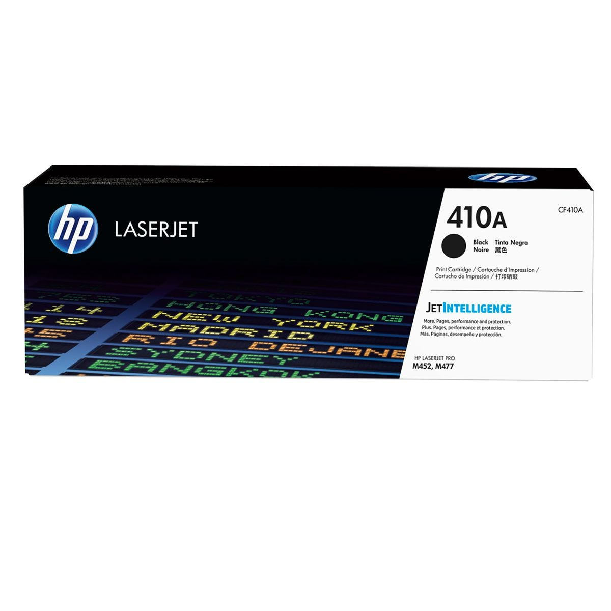 HP 410A Toner Cartridge Black CF410A, Black