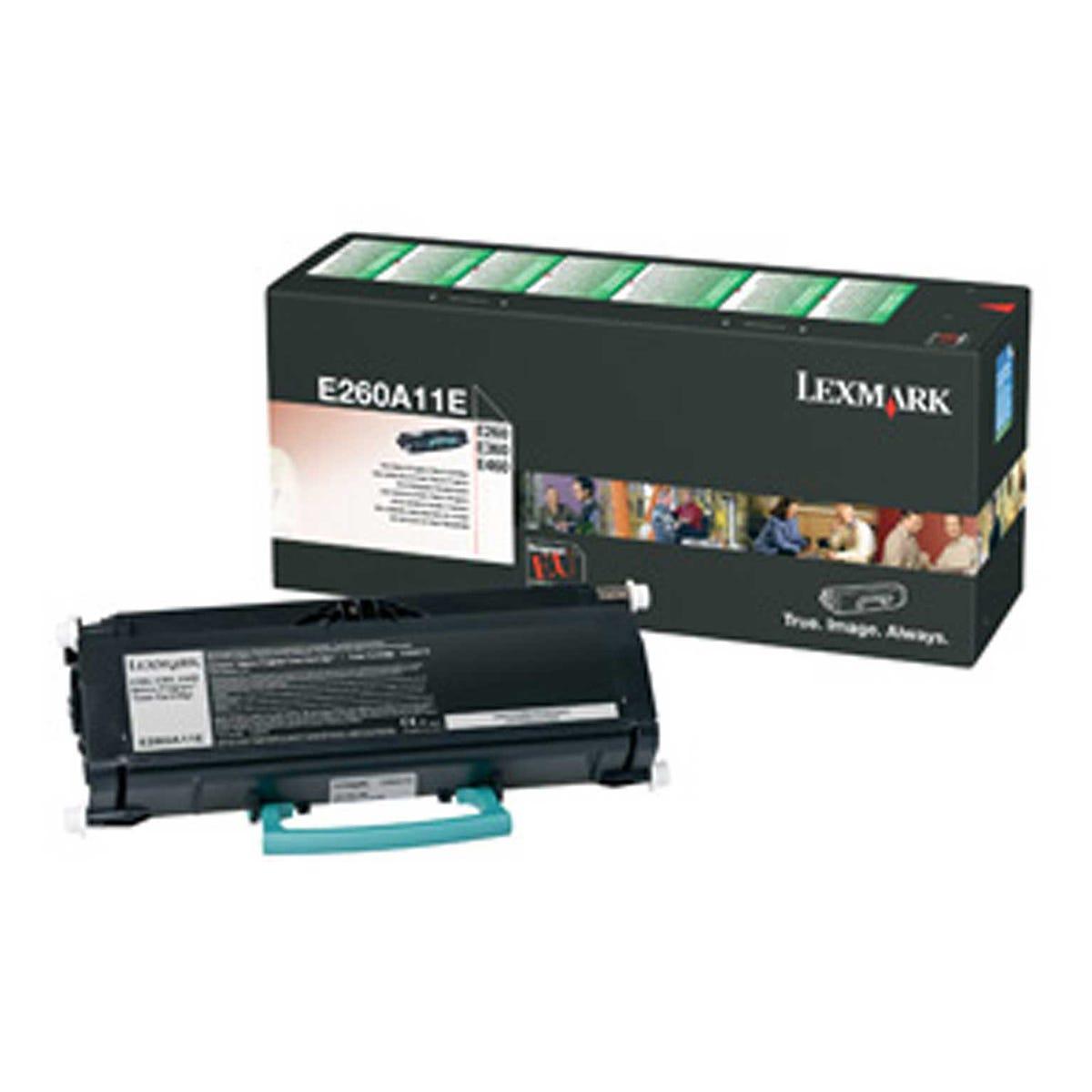 Image of Lexmark E260 Return Ink Toner Cartridge Black, Black