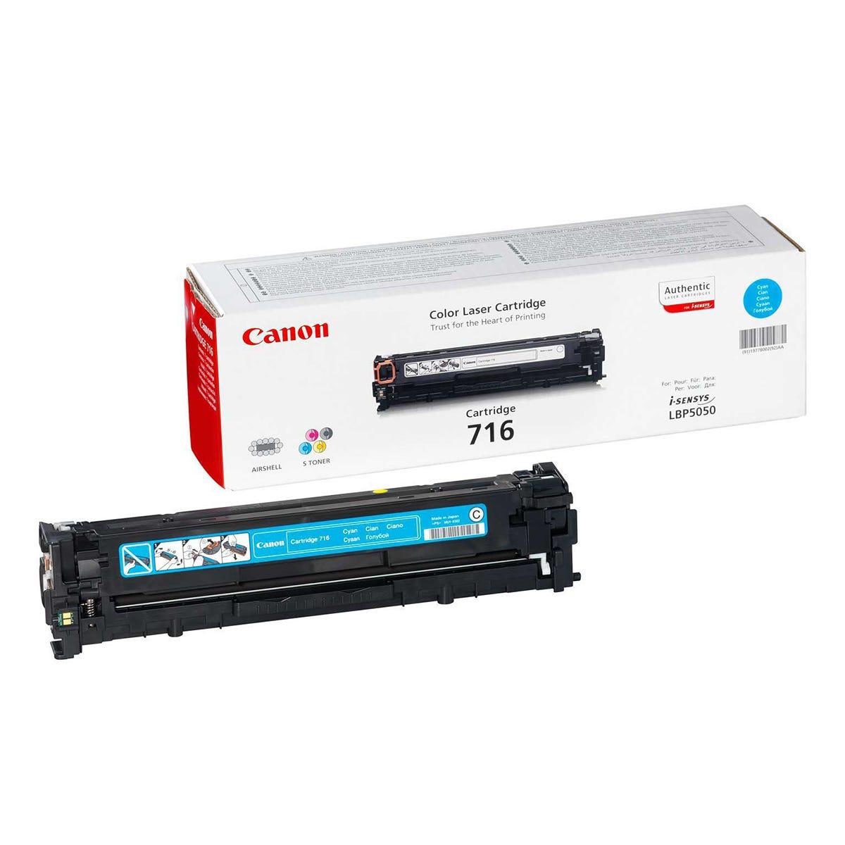 Canon 716 Printer Ink Toner Cartridge 1979B002AA, Cyan