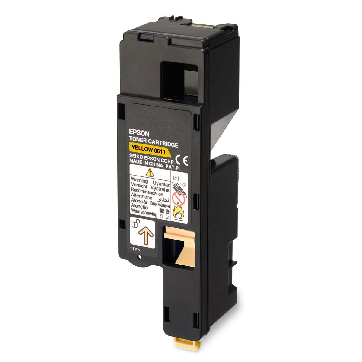 Epson Aculaser C1700 Toner Cartridge High Yield, Yellow.