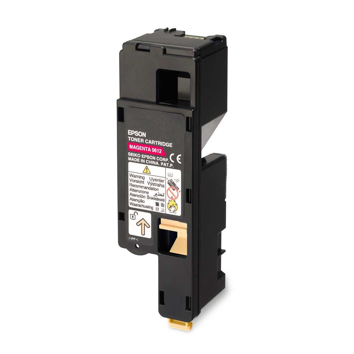 Epson Aculaser C1700 Toner Cartridge High Yield, Magenta.