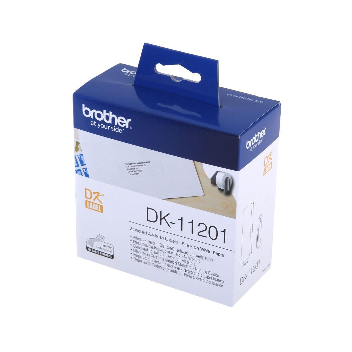 Brother Address Labels QL Labeller Rolls DK-11201, Std Address