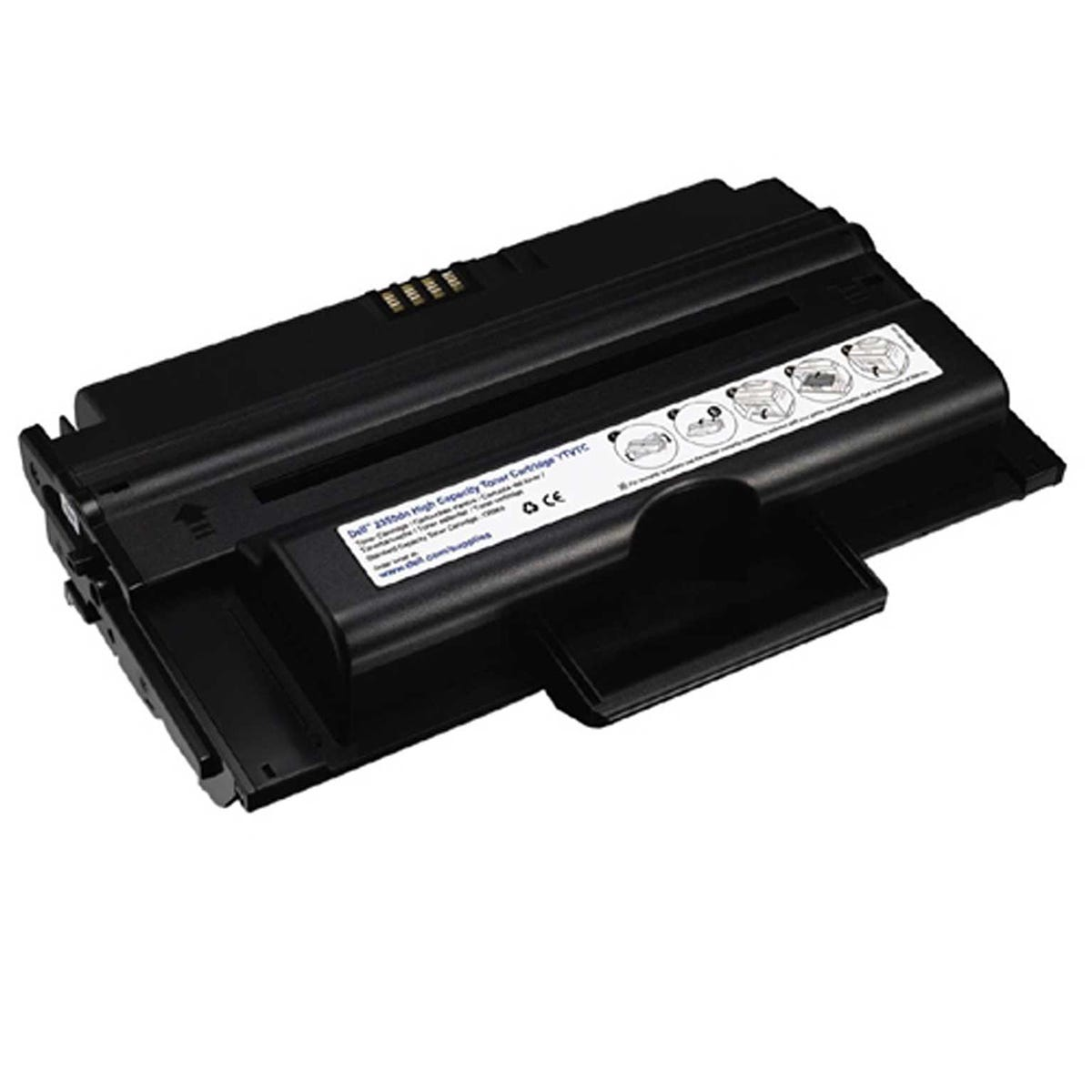 Dell 593-10330 Printer Ink Toner Cartridge Kit, Black.